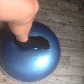 esguince bosu reequilibrio recuperacion