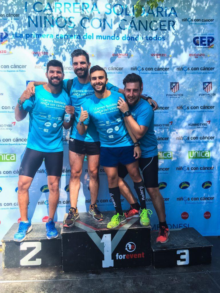 I CARRERA SOLIDARIA NIÑOS CON CANCER - Sweat4Success