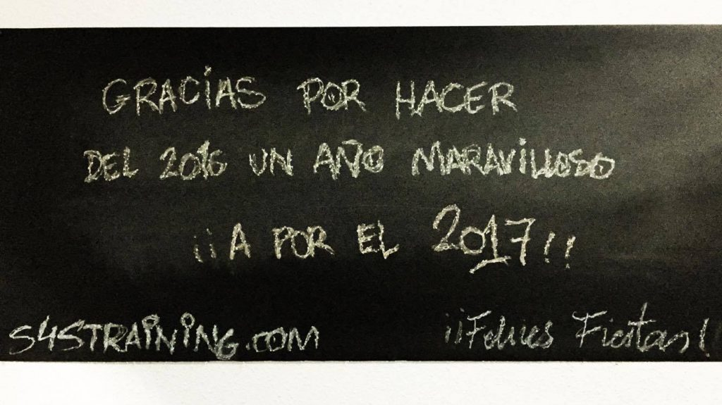 sweat4success, gracias, 2017, 2017, blackboard