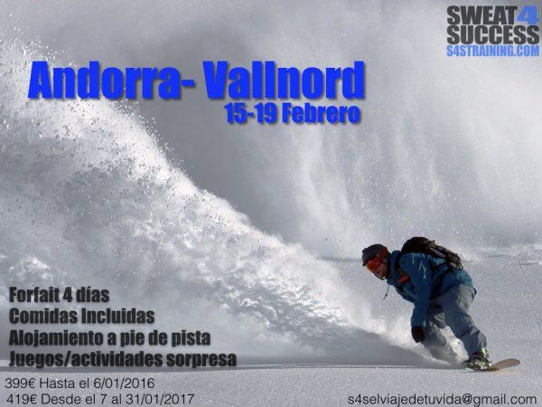 #S4SElViajeDeTuVida2017- Nos vamos a la nieve (contigo)