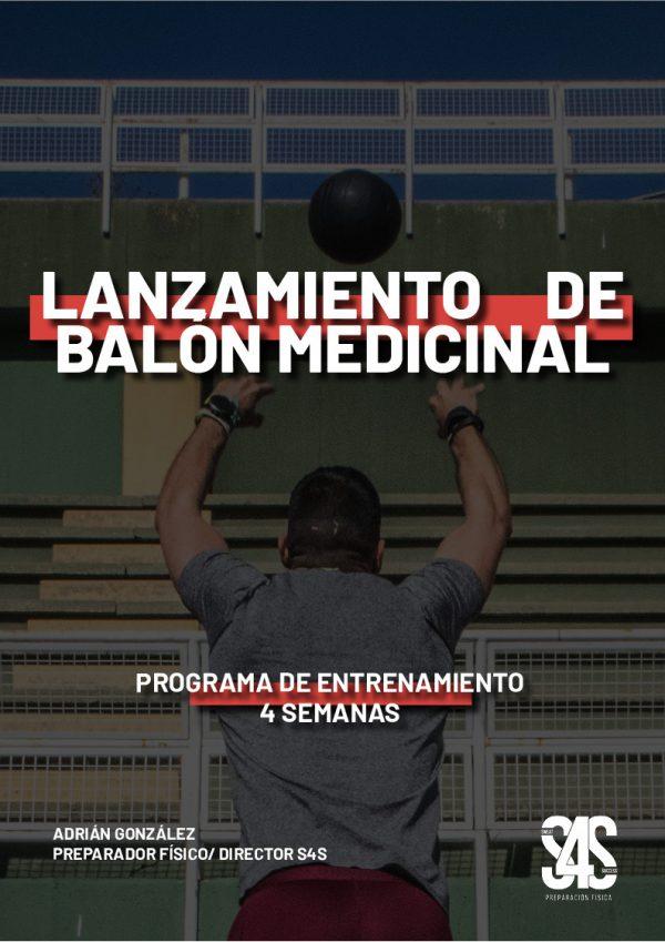 Lanzamiento balón medicinal